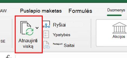"""""""Power Query"""" naudojimas """"Excel for Mac"""""""