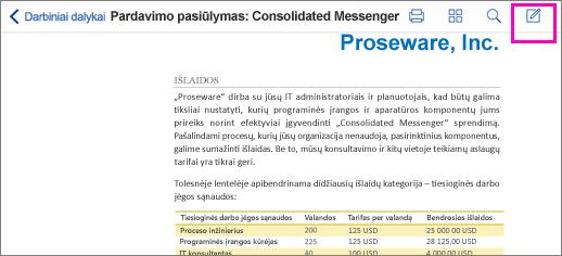 PDF ženklinimo įrankis