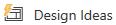 """""""PowerPoint"""" dizaino įrankio įrankių juostos mygtukas"""