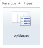 SharePoint 2010 apklausos piktograma