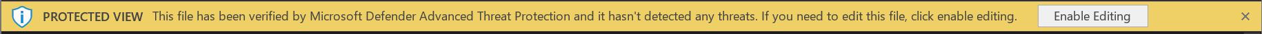 """""""MDATP"""" verslo juostos ekrano nuotrauka, jei failas yra saugus"""