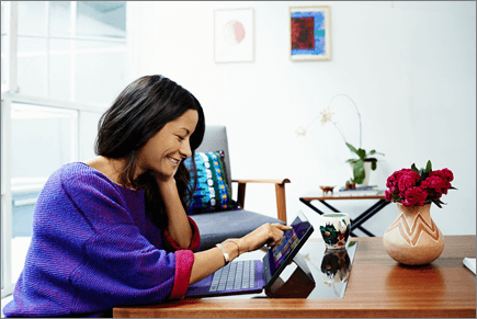 """""""Office 365"""" greito pasirengimo darbui parinkties """"norite daugiau"""" vaizdas"""