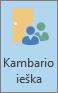 """""""Outlook"""" kambario ieškos mygtukas"""