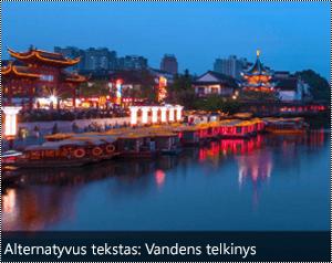Vaizdas su automatiškai sugeneruotos apatiniame krašte vaizdo alternatyvųjį tekstą Word for Windows.