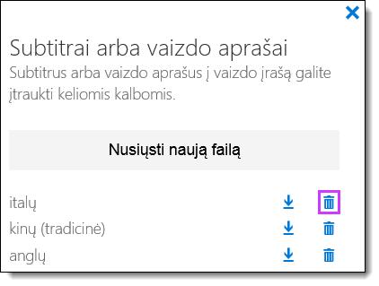 """""""Office 365"""" vaizdo įrašų naikinimas paantraščių"""