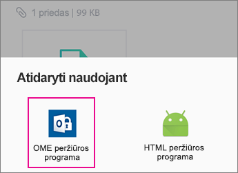 "OME peržiūros Yahoo Mail ""Android"" 2"