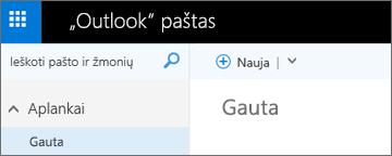 """Kaip atrodo naujoji """"Outlook.com"""" juostelė"""