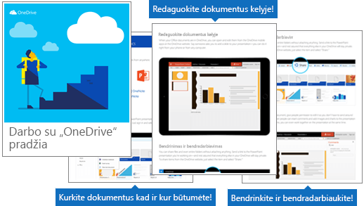 "Darbo pradžia su ""OneDrive"" eBook"