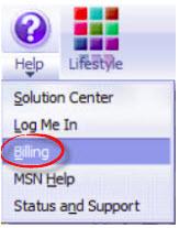 MSN Explorer mygtuką Žinynas