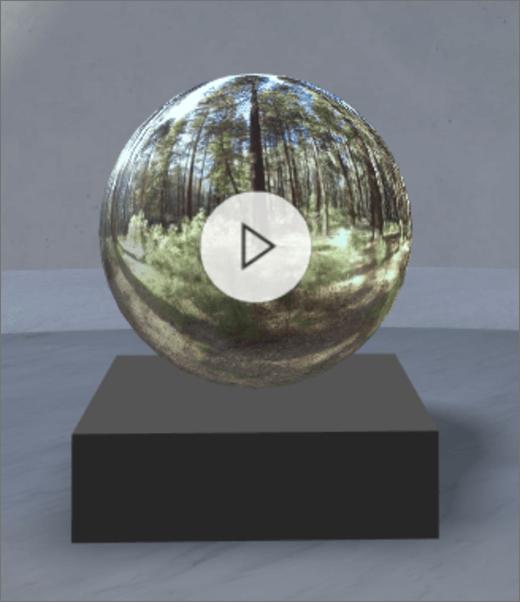"""""""360"""" vaizdo įrašo puslapio dalys"""