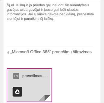 """OME peržiūros su """"Gmail"""" 1"""