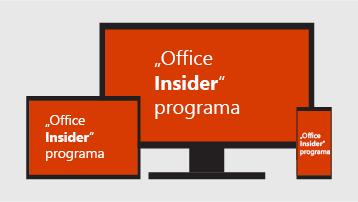 """""""Office Insider"""" programa."""