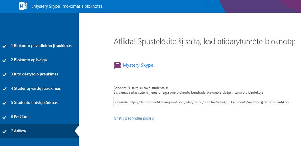 "Dabar ""Mystery Skype"" sąranka yra baigta"