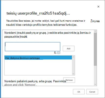 """Dialogo langą teisės kontroliuoti, kas gali kurti """"OneDrive"""""""