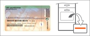 Autentiškumo sertifikatas ir kortelė