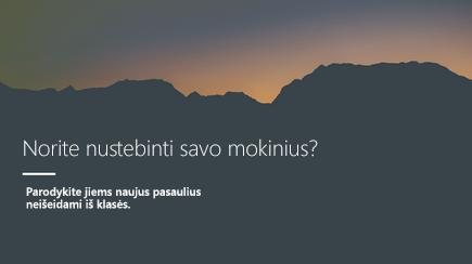 """3D """"PowerPoint"""" šablono antraštės skaidrėsekrano nuotrauka"""