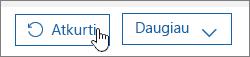 """Vartotojo atkūrimas """"Office 365""""."""