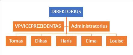 Įprasta hierarchija