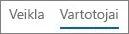 """Vartotojų rodinio """"Office 365"""" """"Yammer"""" veiklos ataskaitoje ekrano nuotrauka"""