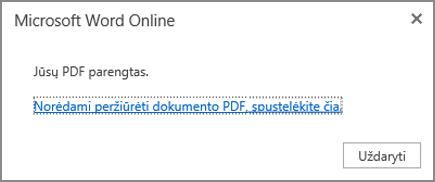 Spustelėkite norėdami peržiūrėti PDF