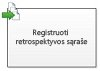 Registruotis retrospektyvos sąraše