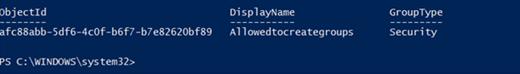 """Grupės informacijos per Azure AD """"PowerShell"""""""