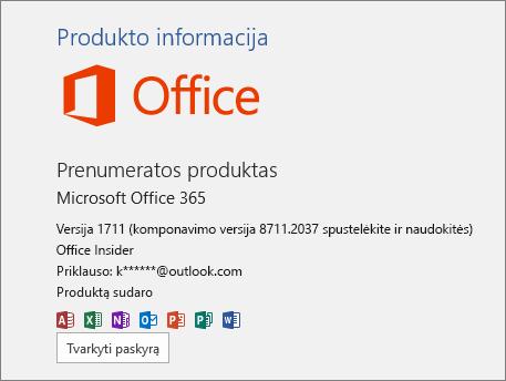 """""""Office Insider"""" Komponavimo versija"""