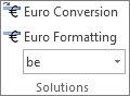 Euro konvertavimas ir Euro formatavimas