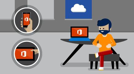 """Darbo su """"Office 365"""" pradžia"""