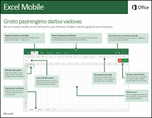 Excel Mobile Quick Start Guide