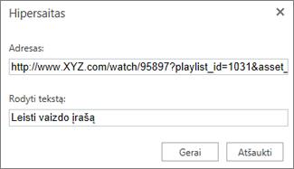 URL kopijavimas