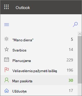 """Kairiosios """"Outlook"""", skirtos """"Outlook"""", """"Outlook"""", skirtos """"Outlook"""", skirtos """"Outlook"""", """"Outlook"""""""