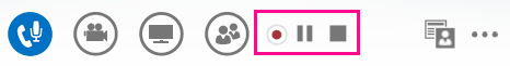 Įrašymo valdiklių ekrano nuotrauka