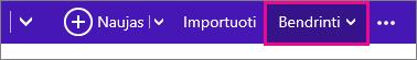 Outlook.com – spustelėkite bendrinti, kad pasirinktumėte kalendorių