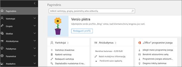 """Office 365"" administravimo centras"