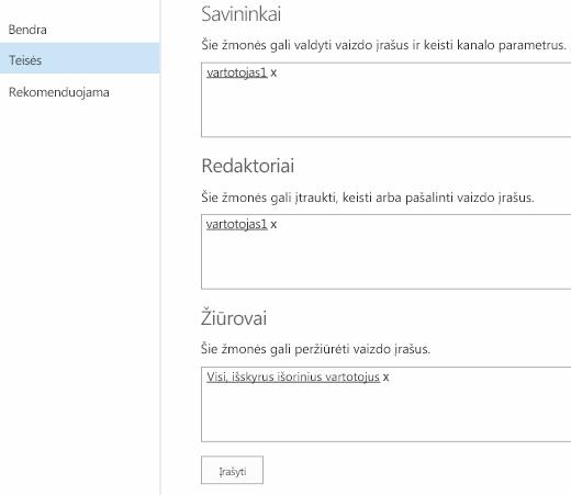 """""""Office 365"""" vaizdo įrašas teisės"""