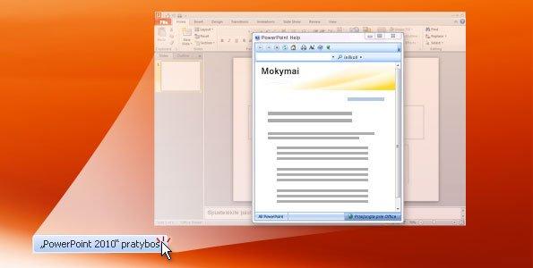 """PowerPoint 2010"" pratybos"