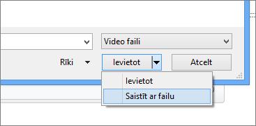 Parāda dialoglodziņu Video ievietošana programmā PowerPoint