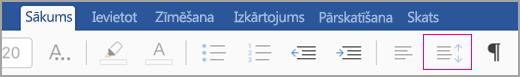 iPad ikona līnija atstarpes