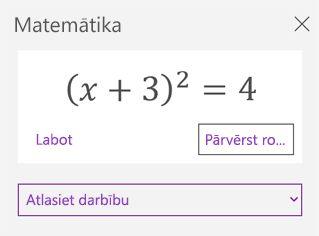 Matemātisko vienādojumu matemātikas uzdevumrūtī