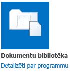 Dokumentu bibliotēka