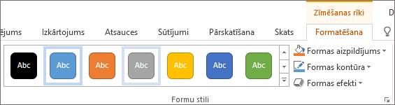 Grupa formu stili