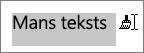 Velkot pār tekstu, kuram vēlaties lietot kopēt formatējumu