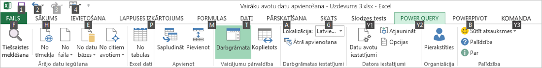 Data Explorer lentes taustiņpadomi nr.2