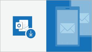 Outlook darbam ar Android un iebūvētā pasta špikeris