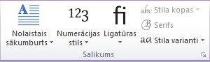 programmas publisher 2010 grupa salikums