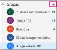 Kreisā navigācijas rūts lietojumprogrammā Outlook tīmeklī ar iezīmētu pogu Izveidot