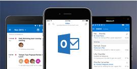 Outlook darbam ar iOS
