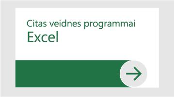 Citas veidnes programmai Excel