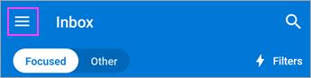 Izvēlnes ikona